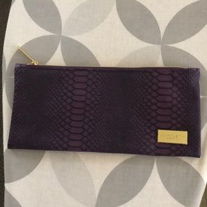 Napoleon perdis makeup bag purple snakeskin